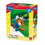 King-Puzzle-5166-C Mini Puzzle - Mickey Mouse Club House
