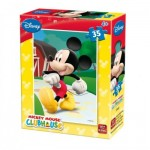 King-Puzzle-5166-D Mini Puzzle - Mickey Mouse Club House
