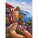 Puzzle  KS-Games-11345 Escaliers menant à la Villa
