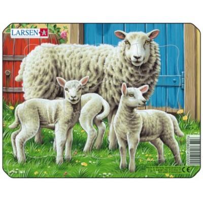 Puzzle cadre moutons puzzle acheter en ligne - Acheter cadre en ligne ...