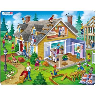 Puzzle cadre le chantier de construction 62 teile larsen puzzle acheter - Acheter cadre en ligne ...