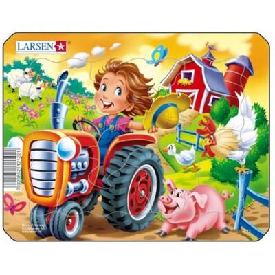 Puzzle cadre tracteur puzzle acheter en ligne - Acheter cadre en ligne ...