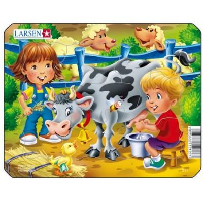 Puzzle cadre vache puzzle acheter en ligne - Acheter cadre en ligne ...