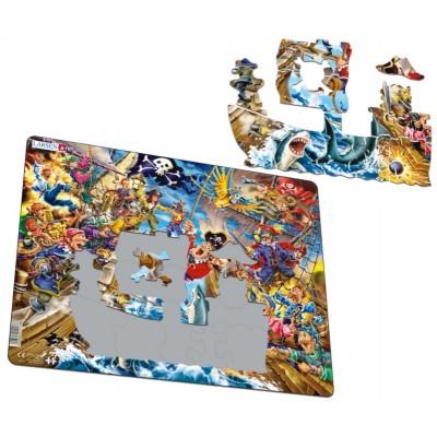 Puzzle cadre pirates 39 teile larsen puzzle acheter en ligne - Acheter cadre en ligne ...