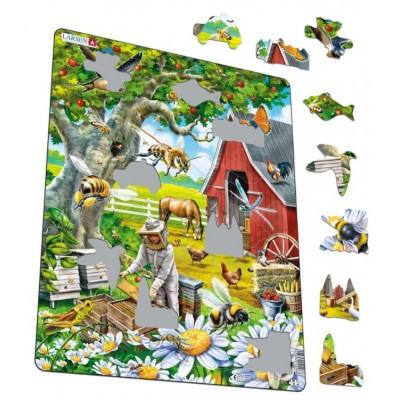 Puzzle cadre apiculture 53 teile larsen puzzle acheter en ligne - Acheter cadre en ligne ...