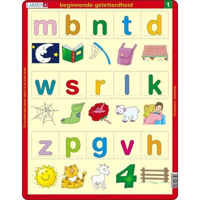 Puzzle cadre beginnende geletterdheid 1 en hollandais - Acheter cadre en ligne ...