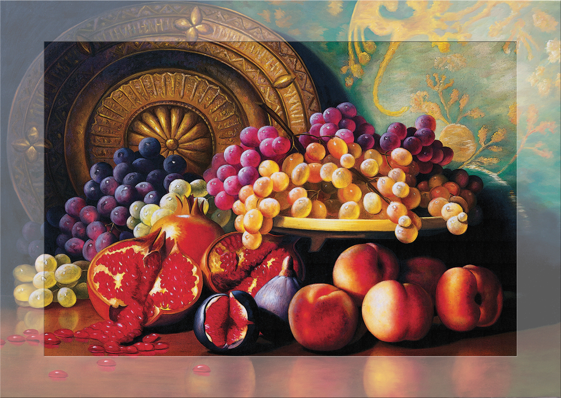Puzzle Senteur - Corbeille de Fruits