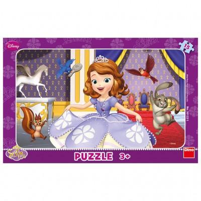 Puzzle cadre sofia the first 15 teile dino puzzle - Acheter cadre en ligne ...