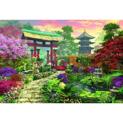 jardin japonais 3000 teile educa puzzle acheter en ligne. Black Bedroom Furniture Sets. Home Design Ideas