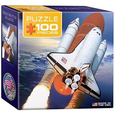 Pièces Mini Puzzle Space Shuttle 100 Eurographics Atlantis PkTZiOXu