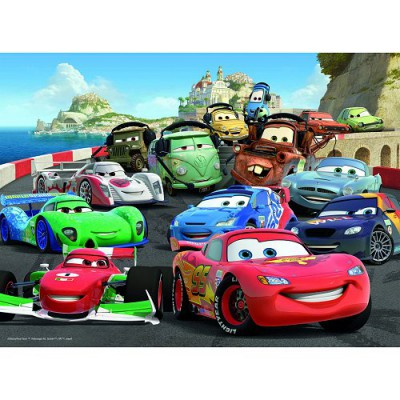course de voiture explosive disney cars 100 pi ces puzzle ravensburger puzzle acheter en ligne. Black Bedroom Furniture Sets. Home Design Ideas