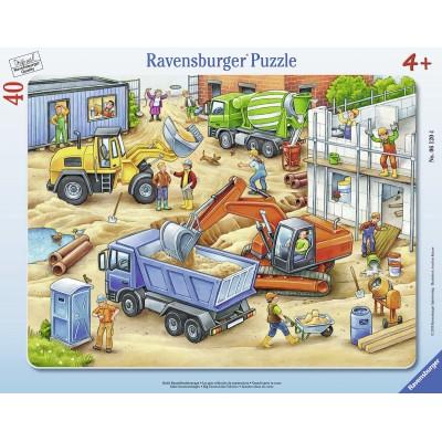 Puzzle cadre sur le chantier 40 teile ravensburger puzzle acheter en ligne - Acheter cadre en ligne ...