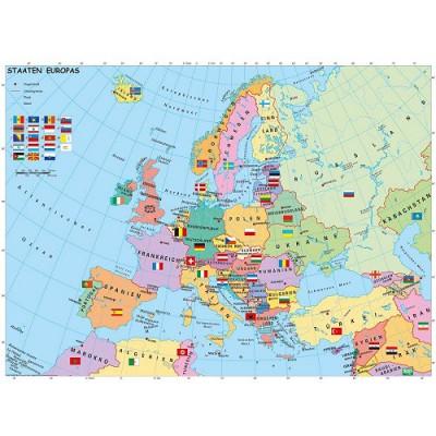 Carte de l'Europe en Allemand   200 Teile   RAVENSBURGER Puzzle