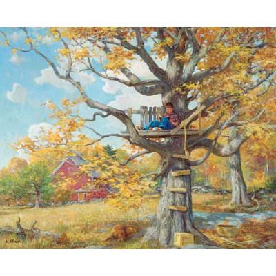 Maison dans les arbres 1000 teile white mountain for Acheter cabane dans les arbres