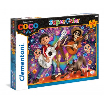disney pixar coco 104 teile clementoni puzzle acheter en ligne. Black Bedroom Furniture Sets. Home Design Ideas