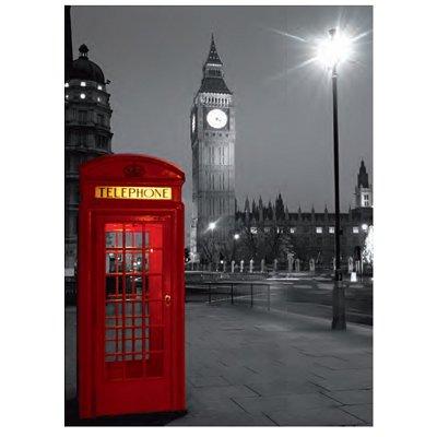 Londres cabine t l phonique puzzle 500 pi ces clementoni puzzle achet - Acheter cabine telephonique ...