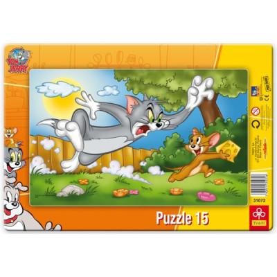 Puzzle cadre tom et jerry 15 teile trefl puzzle acheter en ligne - Acheter cadre en ligne ...