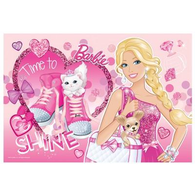 Avec 50 Xxl Pièces Barbie Paillettes Trefl 2IWDY9HE