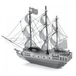 Puzzle 3D en Métal - Bateau de Pirate la Perle Noire 25 pièces - Metal Earth - Iconx