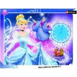 Nathan-86100 Puzzle cadre - Princesses Disney : Cendrillon et sa Marraine