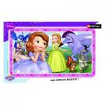Nathan-86118 Puzzle Cadre - Princesse Sofia