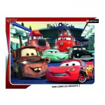 Nathan-86121 Puzzle Cadre - Cars