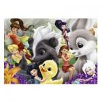 Puzzle  Nathan-86526 Disney Fairies - Les Amis des Fées