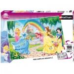 Puzzle  Nathan-86708 Disney Princess : Le Jardin des Princesses