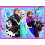 Puzzle  Nathan-86727 La Reine des Neiges : Olaf et ses Amis