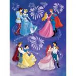 Puzzle  Nathan-86823 Les princesses et leurs Princes