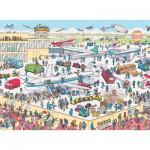Puzzle  Nathan-86851 Où est Charlie ? Charlie à l'aéroport