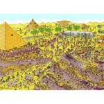 Puzzle  Nathan-86916 Où est Charlie ? Au Temps des Pharaons