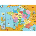 Puzzle  Nathan-86933 Carte de France
