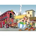 Puzzle  Nathan-87101 Astérix et Obélix à Londinium