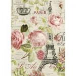 Puzzle  Nathan-87453 Paris Roses