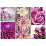 Puzzle  Nathan-87456 Composition Florale