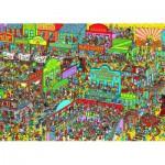 Puzzle  Nathan-87572 Ou est Charlie ? Charlie chez les Cow-Boys