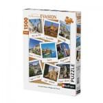 Puzzle  Nathan-87774 Les plus Beaux Villages de France