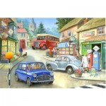 Puzzle  The-House-of-Puzzles-1387 Pièces XXL - Country Town