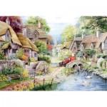 Puzzle  The-House-of-Puzzles-1431 Pièces XXL - River Cottage