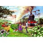 Puzzle  The-House-of-Puzzles-1615 Pièces XXL - Railway Children