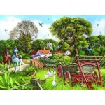 Puzzle  The-House-of-Puzzles-1639 Pièces XXL - Strolling Along