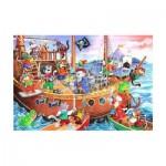 Puzzle  The-House-of-Puzzles-1851 Pièces XXL - Pirates Ahoy