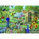Puzzle  The-House-of-Puzzles-2179 Pièces XXL - At The Allotment