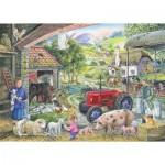 Puzzle  The-House-of-Puzzles-2483 Trouvez les 15 Différences No.2 - On The Farm