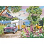 Puzzle  The-House-of-Puzzles-2780 Pièces XXL - Summer Holiday