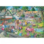 Puzzle  The-House-of-Puzzles-2940 Summer Green