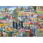 Puzzle  The-House-of-Puzzles-2971 Trouvez les 15 Différences No.5 - Festive Market