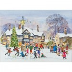 Puzzle  The-House-of-Puzzles-3060 Pièces XXL - Winter Fun