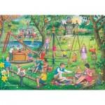 Puzzle  The-House-of-Puzzles-3503 Trouvez les 15 Différences No.8 - Park & Rides